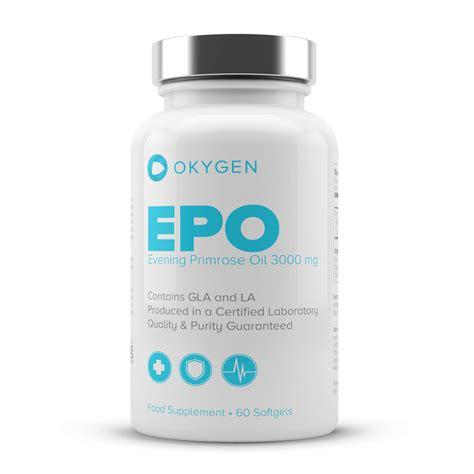 EPO   Evening Primrose Oil   60 softgels   Specials   Okygen