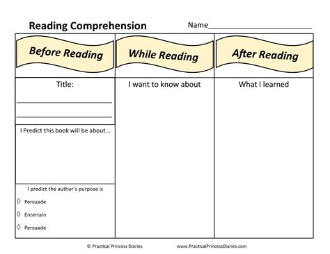 www free reading comprehension worksheets