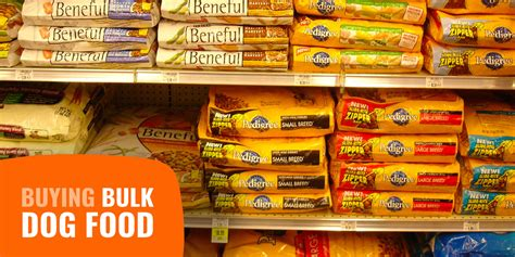Buying Bulk Dog Food - Prices, Deals, Wholesale, Pros & Cons