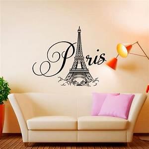 paris wall decal vinyl lettering paris bedroom decor paris With paris wall decor