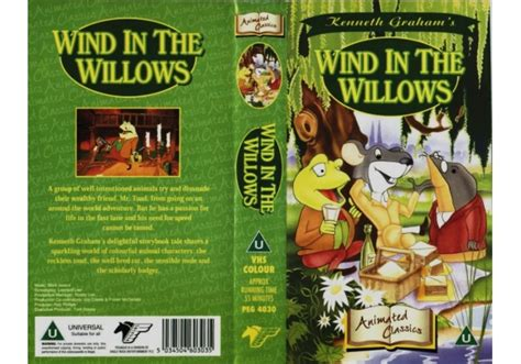 Wind In The Willows (1988)on Pegasus Home Video (united