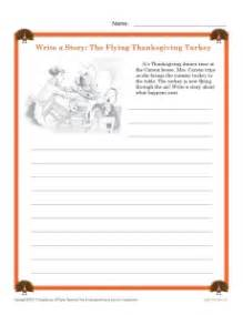 write a thanksgiving story reading worksheets spelling grammar comprehension lesson plans