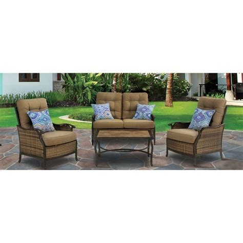 Patio Furniture Conversation Sets Home Depot by Water Resistant Patio Conversation Sets Outdoor Lounge