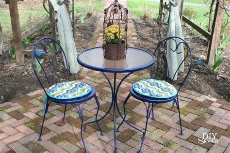 Outdoor Bistro Set Before And Afterdiy Show Off ™