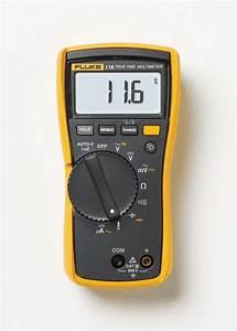 Fluke 116 Hvac Digital Multimeter W Temperature From Davis