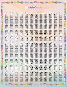 Best Printable Ukulele Chord Chart Weaver Website