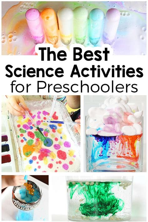 25 science activities for preschoolers that are totally 372 | Best Science Activities for Preschoolers Pin