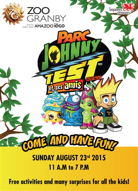 johnny test friends granby zoo dragon imports
