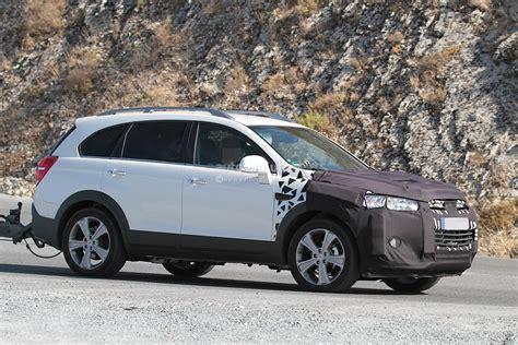 Opel Captiva by 2015 Chevrolet Captiva Opel Antara Facelift Spied
