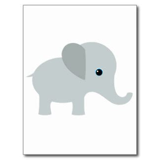 baby shower elephant template baby elephant template baby elephant nursery postcards