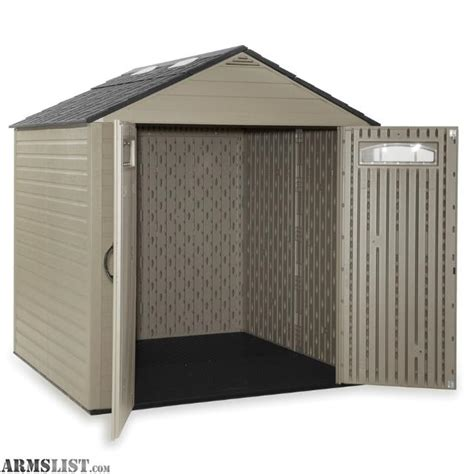 Rubbermaid Roughneck Storage Shed Accessories by Armslist For Sale Rubbermaid Roughneck 7 25 Ft X 7 2 Ft