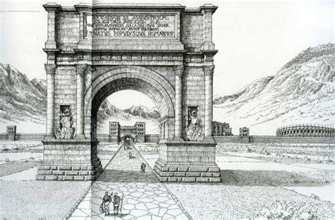 L Ingresso Di Trimalchione Riassunto Aosta Citt 224 Romana E Medievale