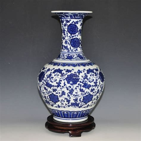 chinese blue  white antique blue porcelain