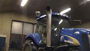 New Holland T8030 Open Pipe Part 1  3