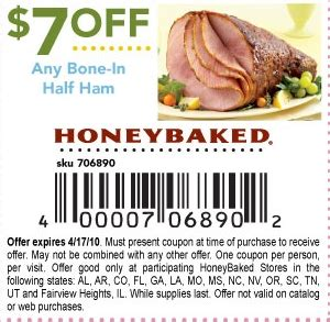 honey baked ham printable coupons new honeybaked ham coupons 22132 | honey baked ham