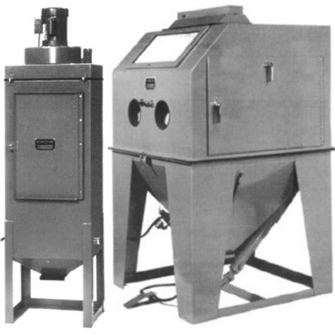40 x 40 sandblasting cabinet 400 cfm dust collector