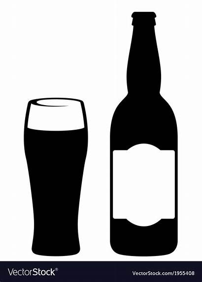 Beer Bottle Vector Glass Royalty Vectors