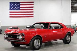 1967 Chevrolet Camaro Ss 271 Miles Red Coupe 350ci V8 4