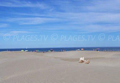 plages port la nouvelle  station balneaire de port