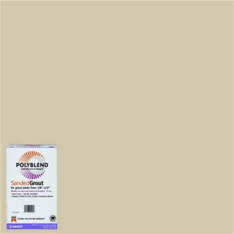 bone grout custom building products polyblend 382 bone 7 lb sanded grout pbg3827 the home depot
