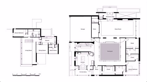 House Design With Inner Courtyard