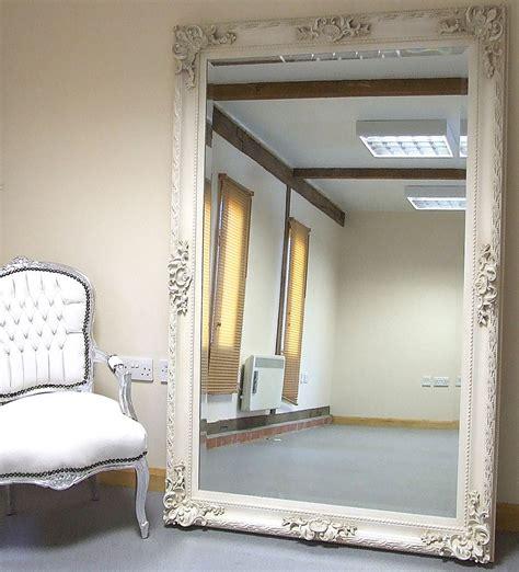 shabby chic bedroom mirror paris ivory extra large shabby chic full length leaner floor mirror 45 x69 floor mirrors