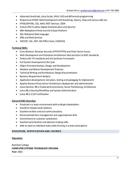 graham perry resume