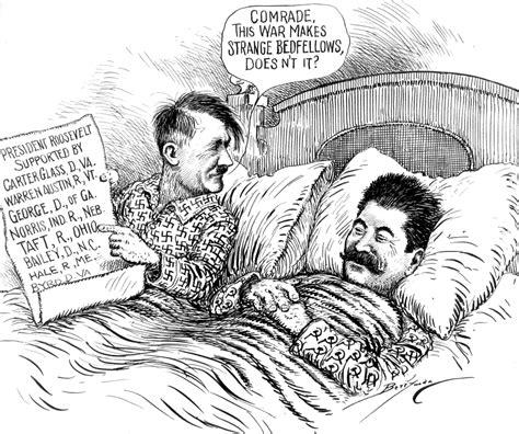 stalin  hitler allies  enemies