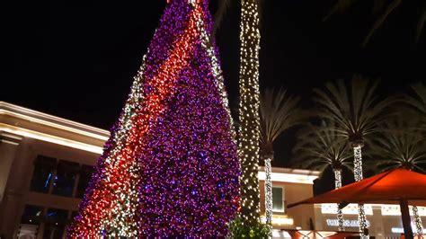 christmas trees irvine tree quot lighting quot at irvine spectrum