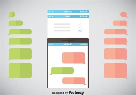 imessage template imessage template vector free vector stock graphics images