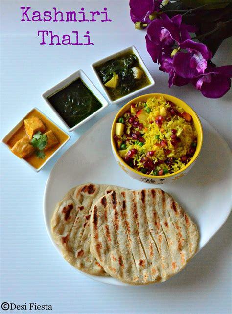 pic cuisine jammu and kashmir mini thali simple