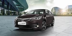 2017 Toyota Corolla Altis launched in India; Price starts ...