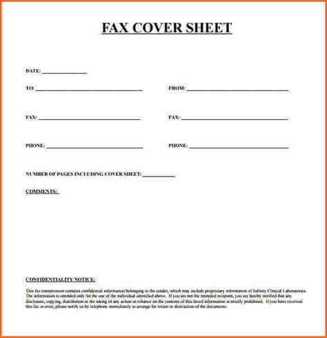 Fax Cover Sheet Template 10 Fax Cover Sheet Template Budget Template Letter