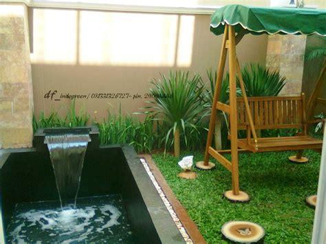 desain taman minimalis belakang rumah minimalist garden