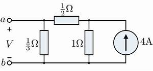 circuit theory two port networks wikibooks open books With the example circuit