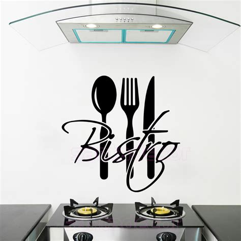 stickers deco cuisine stickers cuisine bistro vinyl wall sticker decal