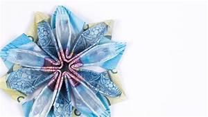 Blume Aus Frühstückstüten : geld falten blume eine bl te aus geldscheinen basteln diy anleitung youtube ~ Eleganceandgraceweddings.com Haus und Dekorationen