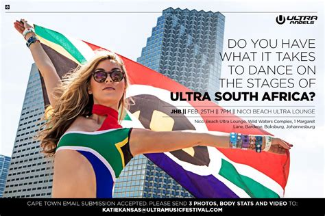 auditions ultra south africa    stage girls