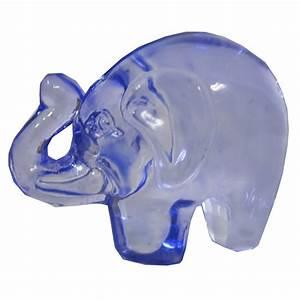 Elephant Porte Bonheur : petit l phant porte bonheur verre bleu ~ Melissatoandfro.com Idées de Décoration