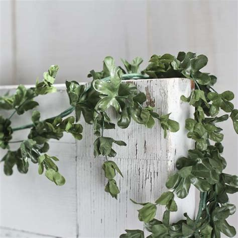 artificial boxwood garland artificial greenery floral