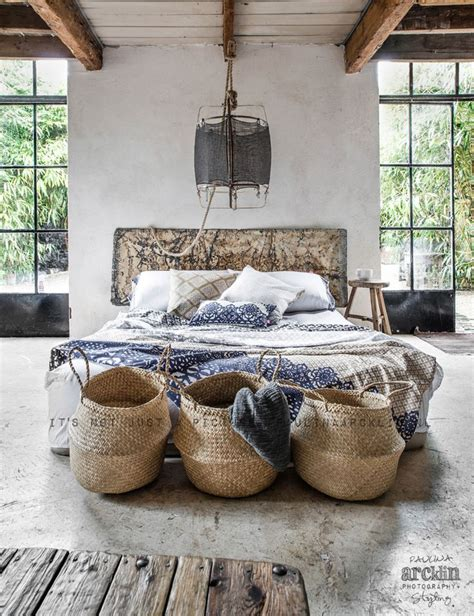 deco chambre basket interior spaces modern tribal detail collective