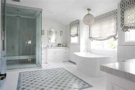white washstands  black  white arabesque mirrors