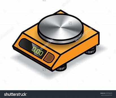 Balance Clipart Digital Scale Vector Orange Clip