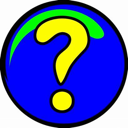 Question Mark Clip Animated Clipart Marks Words
