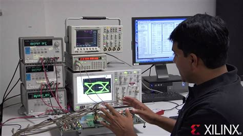 First Xilinx Virtex-7 FPGA Demonstration - YouTube