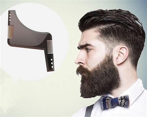 beard shaping template beard mustache styling template grooming kit goatee liner lining shaping tool ebay