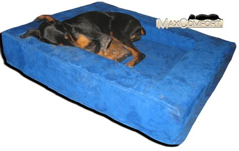 orthopedic pet beds comfort nest memory foam bolster beds made in the u s a