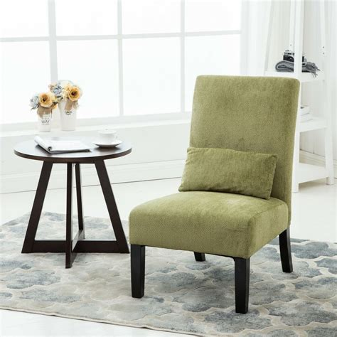 accent chairs  living room bedroom home armless