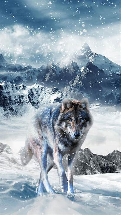Wolf Ice Screen Android Apkpure