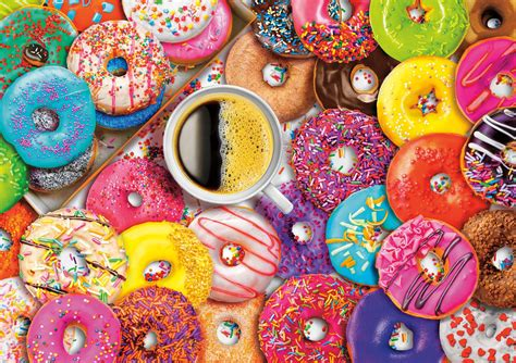 It's listed in puzzle category of google play store, getting more than 500 installs, overall rating is 3.6. Coffee and Donuts, 300 Pieces, Buffalo Games | Puzzle Warehouse